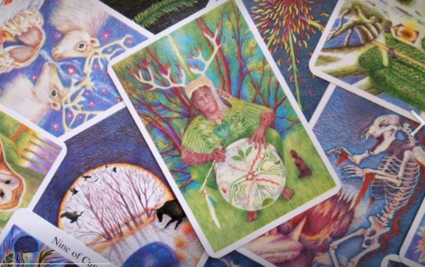 "The Greenwood Tarot – The Rare ""Holy Grail"" of Tarot"